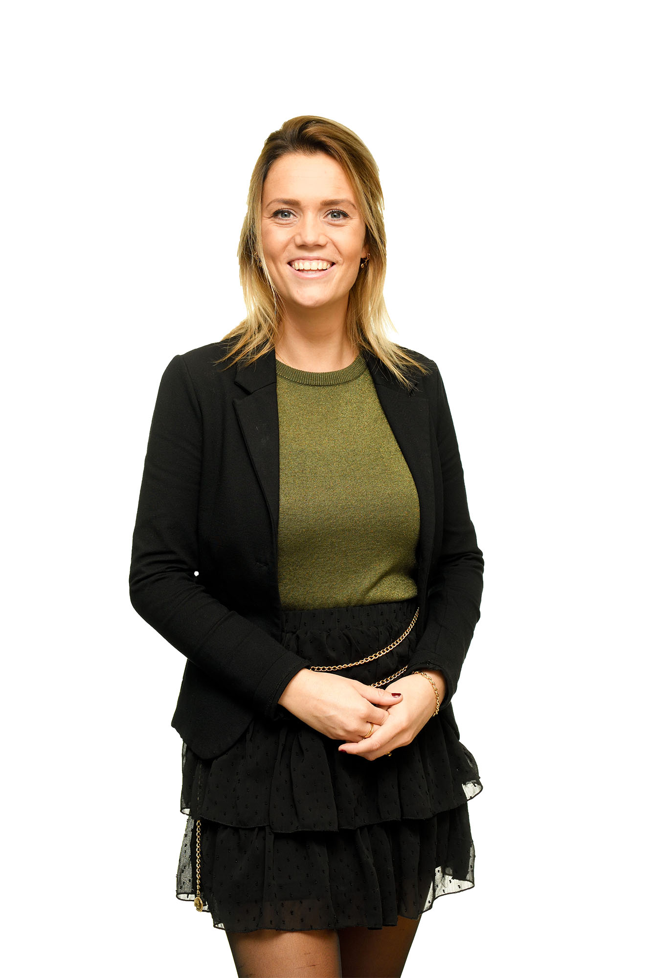 Portretfoto van Lisa Kleijer, medewerkster van EuFlex