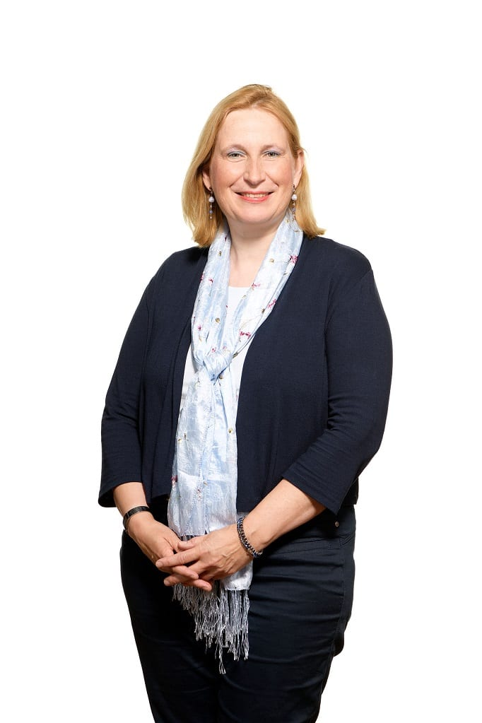 Portretfoto van Marijke Schobben, medewerkster EuFlex